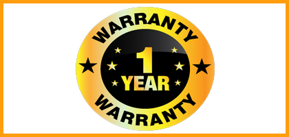 Warranty on Patio and Driveway Cleaning Equipment