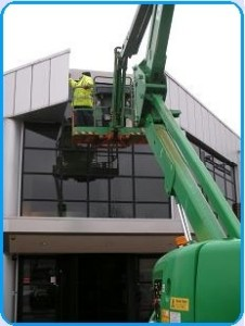 Commercial Fascia cleaning Northampton