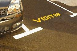 car park line marking Bedford