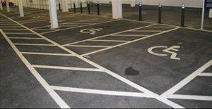 car park line marking Milton Keynes