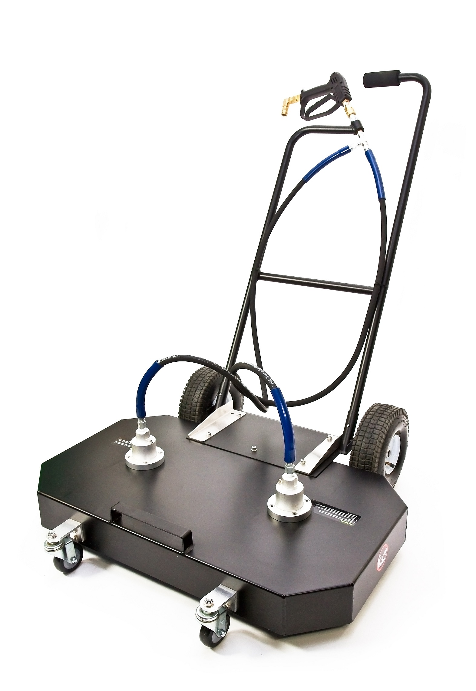 The Spinaclean 36 Inch Twin Double Rotary Arm Flat Surface
