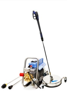 Patio and block paving cleaning equipment